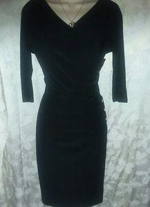 Ralph Lauren Classy Black Dress Size 6